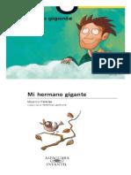 Mi Hermano Gigante (SCAN Color 2xhoja13) - Mauricio Paredes