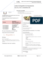✔️  BOLILLA 1. Hepatitis A, E