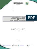 Programa Auditoria Control Interno 2020