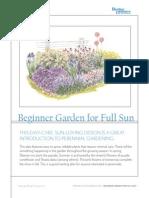 gardplan BeginnerGardenSun[1]