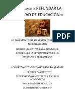 CORRUPCION EN EDUCACIÓN