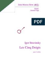 [Violão Dueto] Igor Stravinsky - Les Cinq Doigts