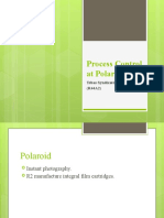 Process Control at Polaroid