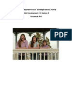 child development issues and implications journal