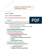 Service Administratif Et Financier