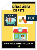 34 Idéias de Negócios Área Pets