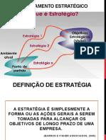 REPOSIÇÃO - 1PROVA - Planejamento Estratégico