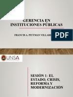 Diapositivas Gerencia en Instituciones Públicas Sesión 1