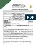 AU 016 INTRODUÇÃO À ARQUITETURA E URBANISMO