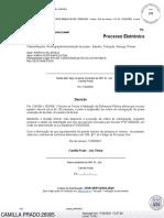 Decisão 41ª VC-Cap - suspende despejo