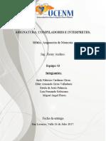 Informe Compiladores