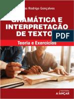 Gramática e interpretação de textos  teoria e exercícios by Jonas Rodrigo Gonçalves ,  Concurso , Enem e Vestibulares (z-lib.org)