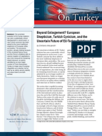 Beyond Enlargement? European Skepticism, Turkish Cynicism, and the Uncertain Future of EU-Turkey Relations