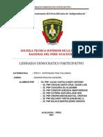 LIDERAZGO DEMOCRATICO PARTICIPATIVO - CASOS