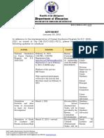 BCD_2-1 CSDD-O-2210 Advisory on DM-OUCI-2021-0015-Career-Guidance-Program