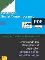 Sesión 11 - Conociendo Las Alternativas Al Desarrollo - Miradas Desde América Latina - 2020 1