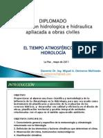 A1-CLASE-TIEMPO ATMOSFERICO Y LA HIDROLOGIA