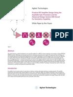 Agilent LNA design note