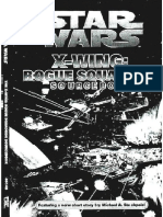 x Wing Rogue Squadron Source Book