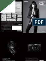 OLYMPUS XZ-1 (F1.8 i.Zuiko Digital Lens) Catalog  [JPN]