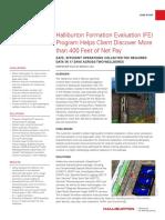 Halliburton-Formation-Evaluation-Program