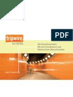 WP Tripwire Wo sich Compliance und Datenschutz überschneiden