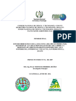 Estudio Hidrológico de La Sub-cuenca Del Rio San Pedro Isaac Herrera