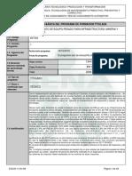 MANTENIMIENTO DE EQUIPO PESADO PARA INFR - MINERIA Y TRANSPORTE
