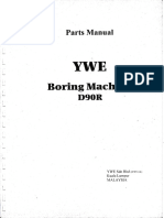 YWE D90R Parts Manual
