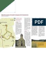 Marche autour de saint Jacques de Cresserons