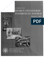 AASHTO Design Std Interstate
