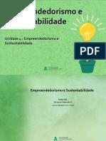 4 Empreendedorismo e Sustentabilidade