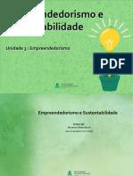 11 Empreendedorismo e Sustentabilidade