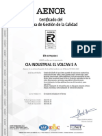 Volcan Iso 9001