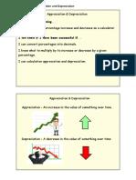 Nat 5 Numeracy Appreciation and Depreciation