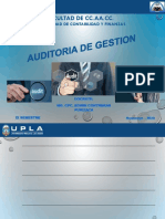 Clase 01 - La  Auditoria