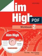 Aim High Level 2 Workbook