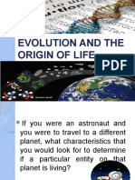 Evolution and the Origin of Life