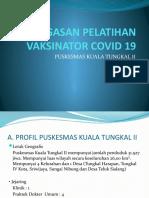 PENUGASAN PELATIHAN VAKSINATOR COVID 19