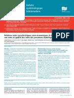 Bulletin épidémiologique