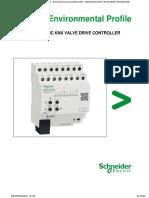 SPACELOGIC KNX VALVE DRIVE CONTROLLER