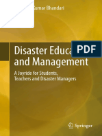Rajendra Kumar Bhandari (Auth.) - Disaster Education and Management_ a Joyride for Students, Teachers and Disaster Managers (2014, Springer India) - Libgen.lc