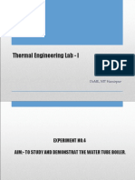 4. Thermal Lab PPT - Water Tube Boiler (1)(1)