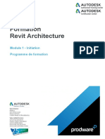 Programme Formation.actaLIANS.revit Architecture.module 1.Initiation.3j