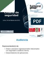 Criterio de Seguridad - 20110224