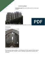 Arhitectura gotică