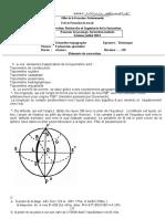 Correction Examen de Passage 2013