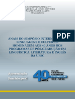 ANAISSIMPOSIOINTERNACIONALLINGUAGENSCULTURASHOMENAGEM40ANOSPROGRAMASPOSGRADUCAOLINGUISTICA