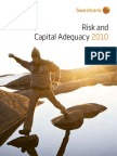 Swedbank Risk and Capital Adequacy 2010