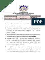 Exame Normal Financas Publicas  19112019